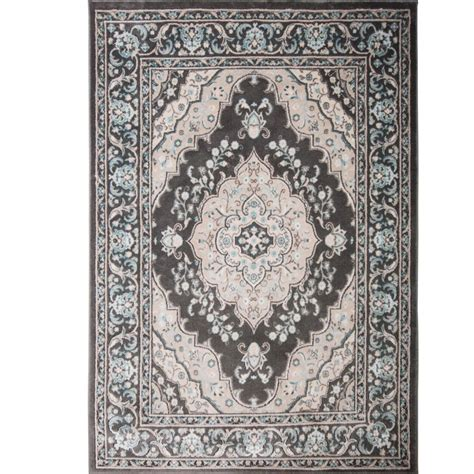 oxford rugs home dynamix oxford gray 5 ft 2 in x 7 ft 2 in indoor area rug 2 6531 451 the home depot