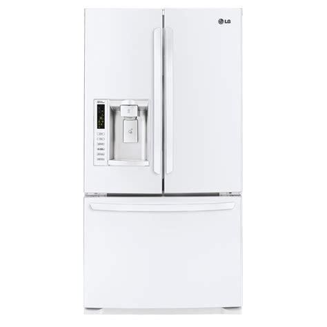 Freezer Lg 7 Rak lg lfx25974sw 24 7 cu ft white door bottom
