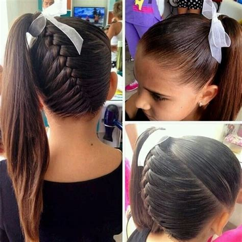 everyday hairstyles for school dailymotion 1000 ideas about french braid ponytail on pinterest