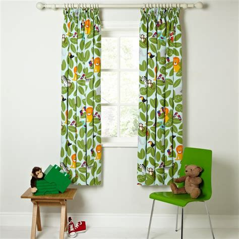 childrens curtains john lewis buy little home at john lewis animal fun pencil pleat