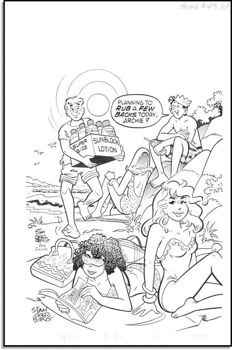 archie comics coloring pages
