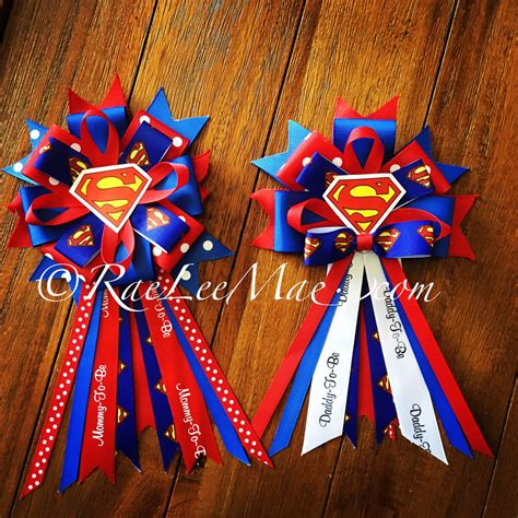 Superman Baby Shower by Superman Baby Shower Corsage To Be Corsage To