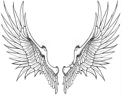 angel wing tattoo design skull wings images