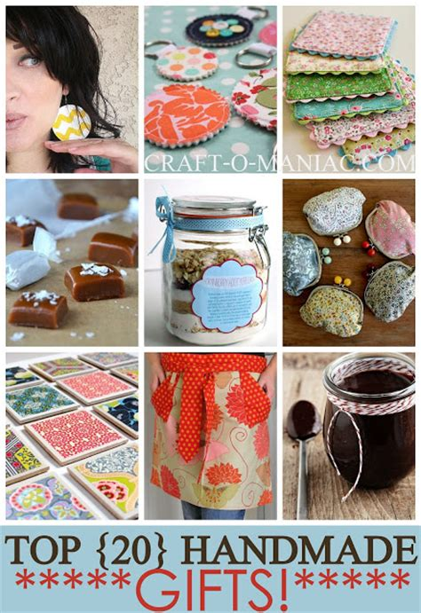 Handmade Presents - top 20 handmade gifts