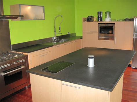 Superbe Plan De Travail Cuisine Corian #5: Cuisine-granit-adouci-inox.jpg