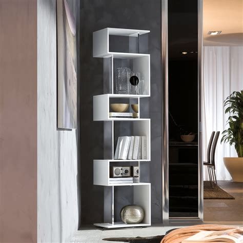 bookcase with mirror osuna swivel bookcase with mirror elements arredaclick