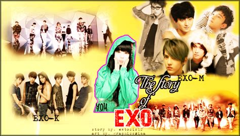 exo story exo the story of exo old posters