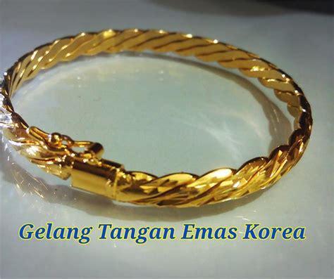 Sale Gelang Fashion Klabang gelang tangan emas korea 12 end 10 15 2017 2 15 pm myt