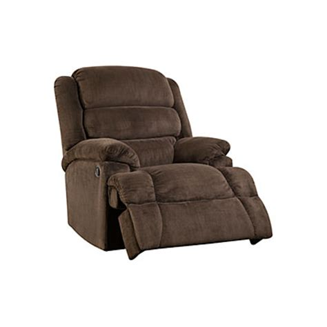oversized recliner big lots stratolounger 174 samson chocolate big one recliner big lots