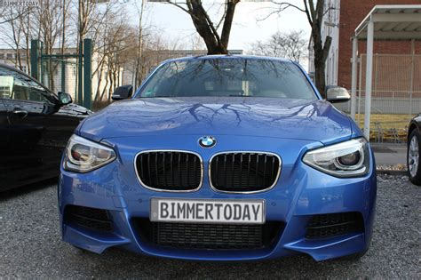 Bmw 1er F20 Estorilblau by Bmw M135i F20 F 252 Nft 252 Rer Fast Ungetarnt In Estoril Blau