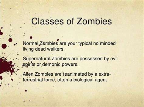 zombie themes for powerpoint powerpoint template zombie gallery powerpoint template