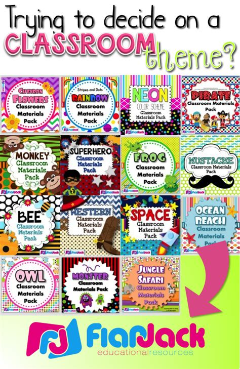 themes kindergarten class over 15 classroom theme designs to choose from with loads