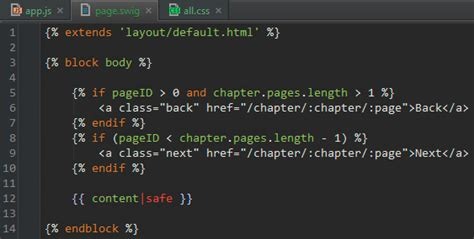 swig template intellij idea webstorm syntax highlighting for swig