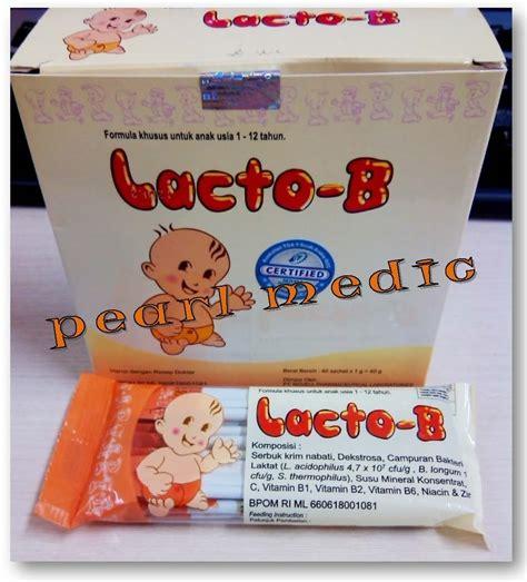 Obat Lacto B Jual Lacto B Sachet Pearl Medic