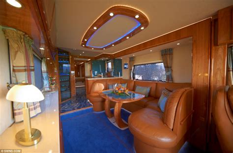 Nautical Bathroom Ideas by The 163 1 2million Motorhome With A State Of The Art Kitchen