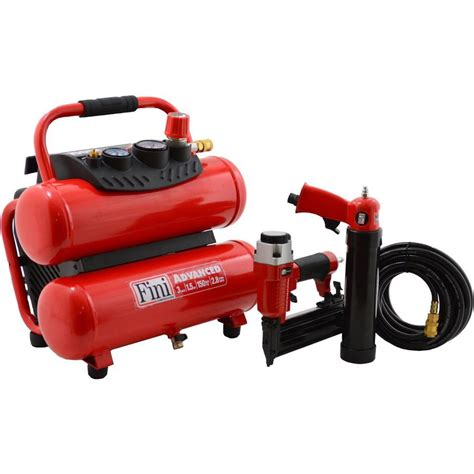 shop fini fini 3 gallon portable electric stack air compressor 2 tools included at lowes