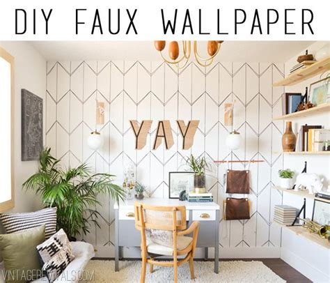 diy temporary fabric wallpaper vintage revivals diy sharpie walls
