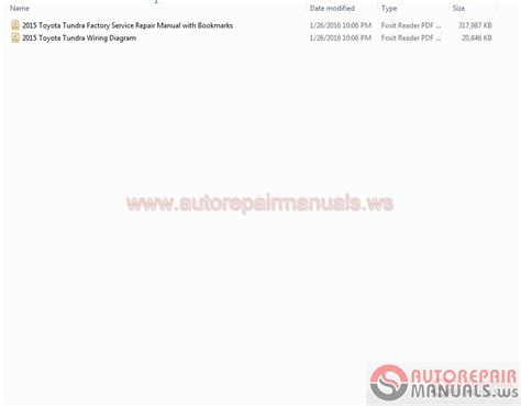 toyota tundra 2015 service manual wiring diagram auto