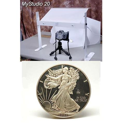 Tabletop Photography Kit by Mystudio Ms20 Tabletop Photo Studio Kit With 5000k