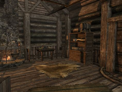 Mod Cabin by Log Cabin Mod At Skyrim Nexus Mods And Community