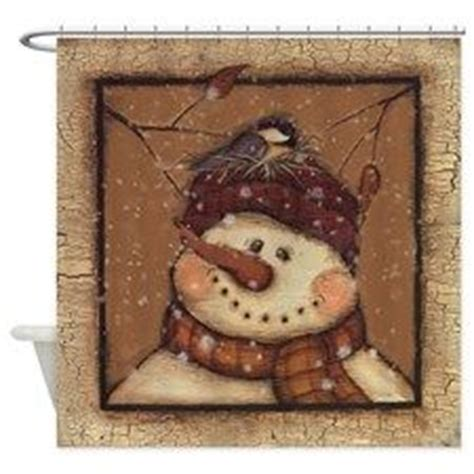 primitive snowman shower curtain 1000 images about snowmen on pinterest primitive