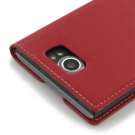 Flip Cover blackberry priv leather smart flip cover pdair pouch