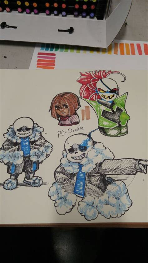 Undertale Sketches 1 By Pc Doodle On Deviantart