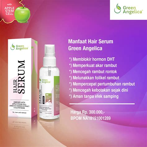 receitas hair serum vitamin rambut rontok green