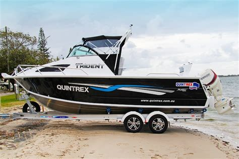 new aluminium boats for sale qld new quintrex 650 trident power boats boats online for