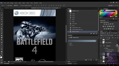design game photoshop photoshop tutorials how to create a video game cover