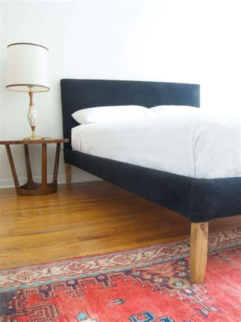 ikea upholstered bed ikea hack but use tarva bed home style pinterest