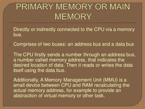 computer memory and memory module