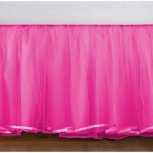 hot pink bed skirt cute tulle hot pink ruffle bedskirts in all sizes drop