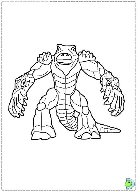 gormiti coloring book pages gormiti coloring page dinokids org
