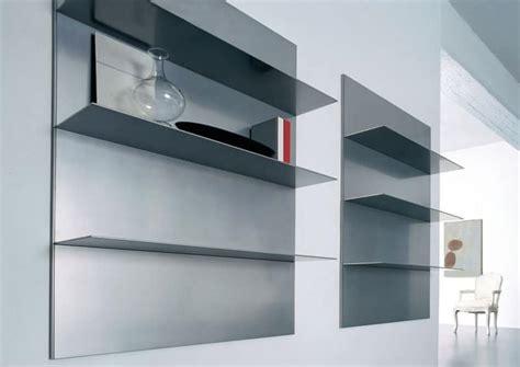 mensole in alluminio mensole lineari per salotto e libreria in alluminio