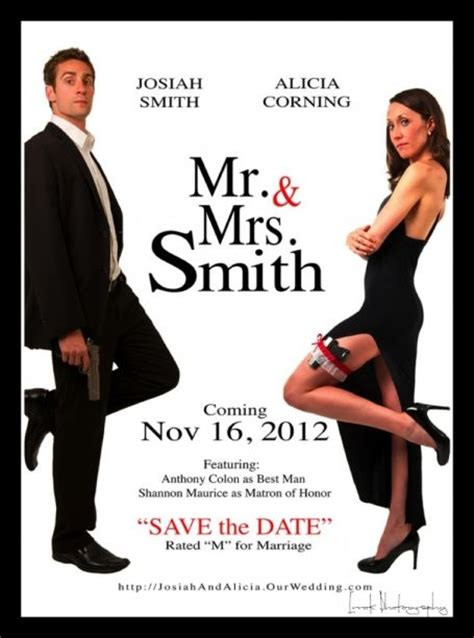 mr and mrs smith wedding invitations 17 best images about mr and mrs smith on