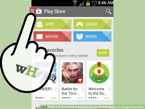 Play Store Home Screen How To Add Icons To The Home Screen Automatically On