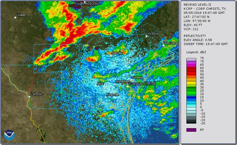 south texas weather map south texas severe weather and heavy event may 9 2014