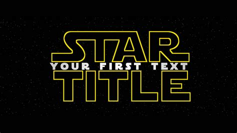 star title