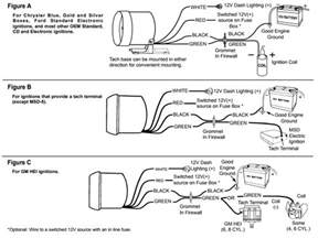 diagram for wiring a tachometer tocs wiring diagram images