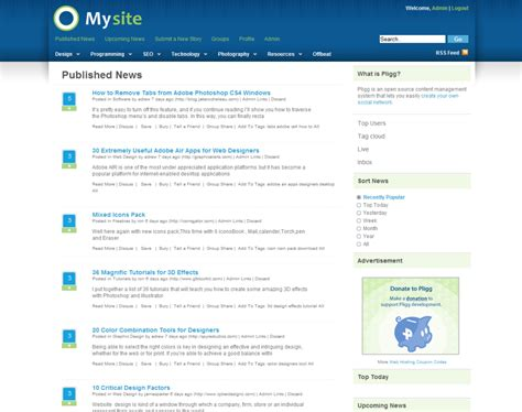 cms template free best free pligg templates in 2013 smart web worker