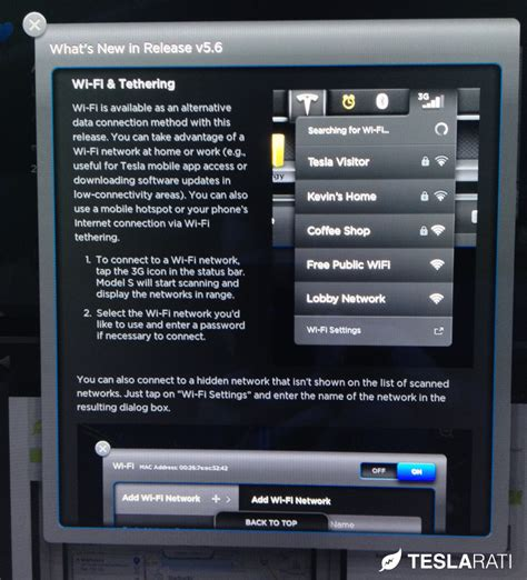 Tesla Model S Firmware Tesla Model S Firmware 5 6 Is Ready For Primetime