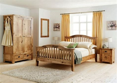Decorating Ideas For Bedrooms With Oak Furniture Wood Furniture For A Beautiful Bedroom Design Interior