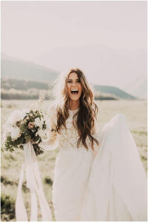Best Boho Wedding Hairstyles by Robe De Mari 233 E Boh 232 Me Chic Choisissez Votre Mod 232 Le