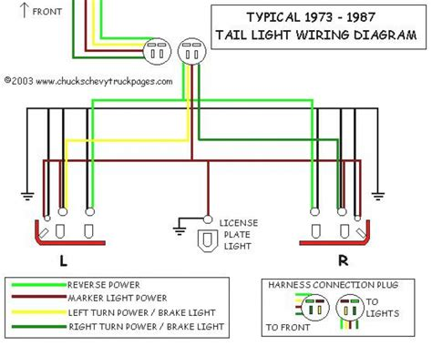 headlight and light wiring schematic diagram typical