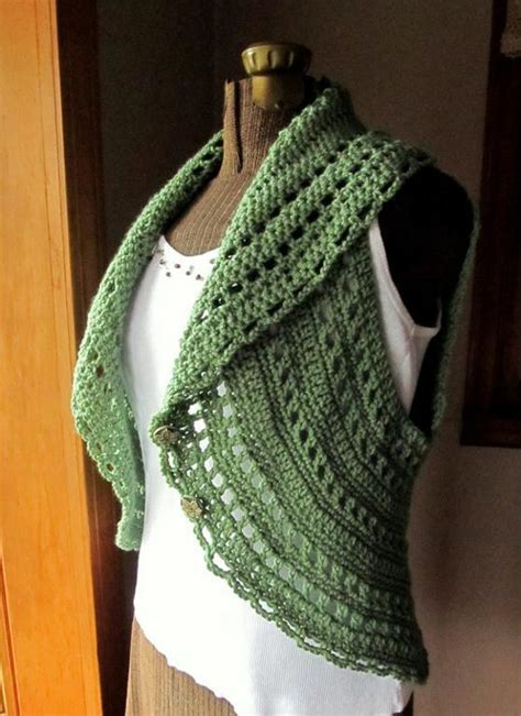 free pattern vest crochet free crocheted vest pattern easy crochet patterns