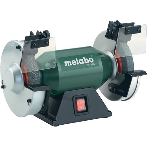 bench grinding 350 w 150 mm metabo ds 150 619150000 from conrad com