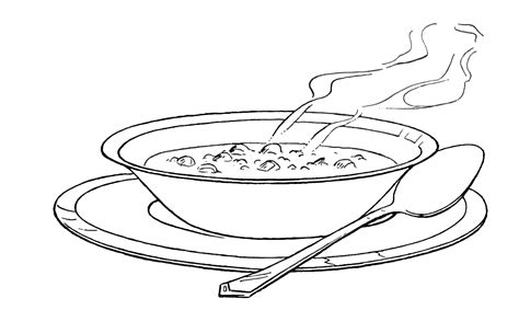 chicken supper coloring page soup bowl shape google search food drink and cooking