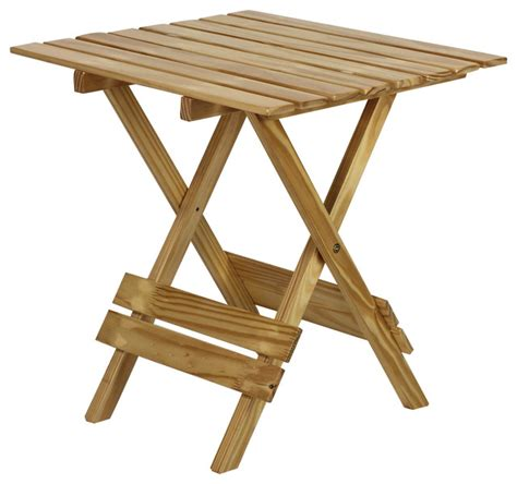 Folding Dining Table quick folding small table made of solid wood natural