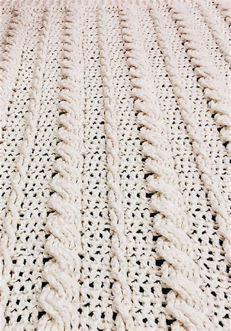pattern crochet throw free pattern fabulous crochet cabled wedding blanket